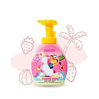 Sữa Tắm Gội Tạo Bọt Toàn Thân Cho Bé Madelyn Minions Foaming Wash Strawberry Hương Dâu Tây 350ml