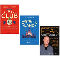 Combo Sách : The Club - Giải Mật Ngoại Hạng Anh + Disney's Land - Hành Trình Đưa Ý Tưởng Điên Rồ Thành Cỗ Máy Kinh Doanh Siêu Lợi Nhuận + Peak - Đỉnh Cao Dẫn Dắt Doanh Nghiệp Bằng Văn Hóa