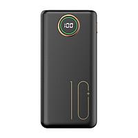 Pin sạc dự phòng CYKE 10000mAh 2.1A sạc nhanh điện thoại 2 cổng đầu ra USB và 3 cổng đầu vào (lightning/Type c/Micro usb) - Hàng Chính Hãng