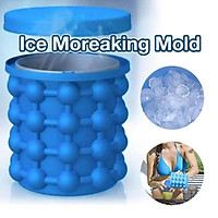 New Ice Cube Maker Genie The Revolutionary Space Saving Ice Genie Cube Maker
