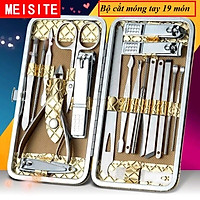 Bộ cắt móng tay - Dụng cụ làm móng - Bộ bấm móng tay đa năng tiện ích cao cấp 19 món