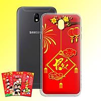 Ốp lưng dẻo cho điện thoại Samsung Galaxy J7 pro - J730 - 01054 7972 PHUC04 - Tặng bao lì xì Cung Chúc Tân Xuân - Hàng Chính Hãng