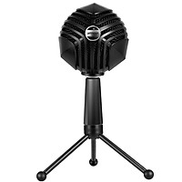 ammoon GM-888 USB Condenser Microphone Ball-shaped Mic with Desktop Mini Metal Tripod Stand for PC Laptop Playing Games