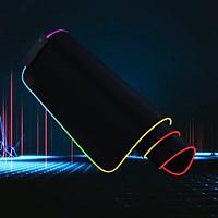 Bàn Di Chuột , Miếng Lót Chuột Gaming RGB Bo Viền Led Sáng Cỡ Lớn  FULL SIZE 80 x 30 cm - Chơi Game Led Nhiều Màu