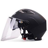 Mũ Bảo Hiểm Xe Máy Kính Đôi, Nửa Đầu, Bản Mùa Hè Mustang YEMA 325 (Free Size)