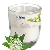 Ly nến thơm tinh dầu Bolsius Lily of the Valley 105g QT024330 - hoa lan chuông
