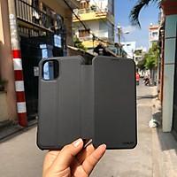 Bao da và miếng dán cường lực dành cho IPhone 11/ 11 Pro/ 11 Pro Max - Hàng Chính Hãng