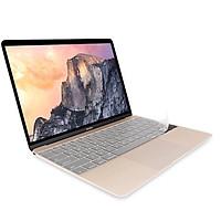 Miếng phủ bàn phím cho MacBook 12 inch (2015 - 2017) hiệu JCPAL FitSkin Tpu siêu mỏng 0.2 mm - Hàng nhập khẩu