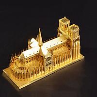 Mô hình thép 3D tự ráp Notre Dame Cathedral Paris