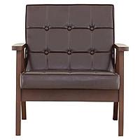 Ghế Sofa 1 Người 8464819 Sereno Japan (67.7 x 71 x 74 cm) - Nâu Đen