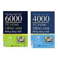 Combo 2 cuốn : 6000 từ vựng tiếng anh thông dụng nhất + 4000 từ vựng tiếng anh thông dụng nhất