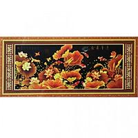 Tranh Thêu Cửu Ngư Quần Hội (165 x 72 cm)