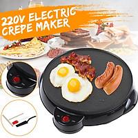 Electric Crepe Pancake Maker Griddle 9 inch Nonstick Pan Home Kitchen Tool DIY