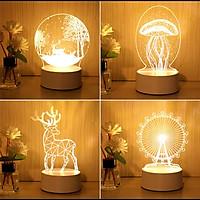 Đèn ngủ mini hình dễ thường - đèn ngủ trang trí NHN95