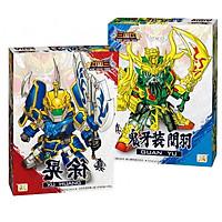 Đồ chơi lắp ghép mô hình Robot Gundam tướng Guan Yu và Xu Zhu - Gundam Tam Quốc Diễn Nghĩa