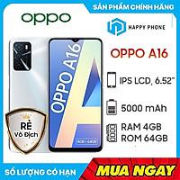 Điện thoại OPPO A16 (4GB/64GB) - Hàng Chính Hãng - Đã kích hoạt bảo hành điện tử