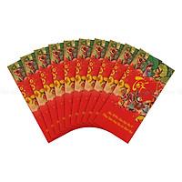 Xấp Bao Lì Xì Huỳnh Gia Phát -Tết Việt (10 Cái/ Xấp)