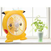 Quạt mini để bàn hình Pikachu siêu đẹp