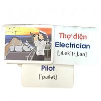 Thẻ Học Thông Minh Theo Phương Pháp Glenn Doman Cho Bé - Chủ Đề Nghề Nghiệp