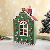 Lịch Ngôi Nhà Gỗ Xanh Ông Già Noel