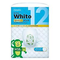 Tã quần siêu cao cấp Nhật Bản Whito (M, 58 miếng)
