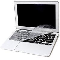 Miếng phủ bàn phím cho MacBook Air 11.6 inch hiệu JCPAL FitSkin Clear Tpu siêu mỏng 0.1 mm - Hàng nhập khẩu