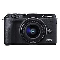 Máy Ảnh Canon EOS M6 Mark II Kit 15-45mm IS STM (Tặng Thẻ 16GB) - Hàng Chính Hãng