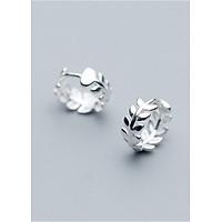 Bông Tai Nữ | Bông Tai Nữ Bạc S925 Dáng Tròn B2442 - Bảo Ngọc Jewelry