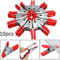 """10x 2"""" Metal Spring Clamps Clips Grip Hold Rubber Ends Tent Tarpaulin Camping"""