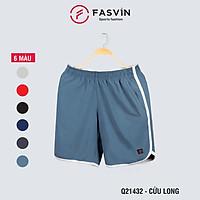 Quần đùi thể thao nam Fasvin Q21432.HN vải gió chun mềm mại co giãn