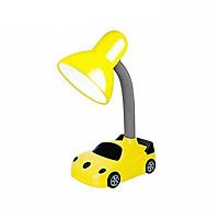 Đèn bàn để học chống cận ĐQ (bóng led ánh sáng trắng, kiểu dáng ô tô màu đen vàng kute)