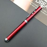 Bút bi đầu cảm ứng đa năng 4 công dụng - nhiều màu
