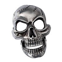 Antique Western Belt Buckle Skeleton Skull Head Men's Accessories Biker
