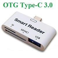 Đầu đọc thẻ OTG Type-C 3.0