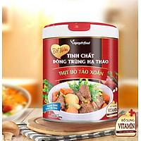 Bột Nêm Đông Trùng Hạ Thảo Thịt Bò Tảo Xoắn Vinanutrifood giúp hỗ trợ chế biến nhiều loại món ăn khác nhau