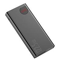 Pin sạc dự phòng sạc nhanh 22.5W dung lượng 20000 mAh hiệu Baseus Adaman Metal Digital Display cho Smartphone / Tablet / Laptop / Macbook - Hàng nhập khẩu