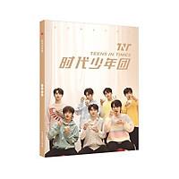 Photobook in hình nhóm nhạc TNT THỜI ĐẠI THIẾU NIÊN ĐOÀN album ảnh tặng kèm poster tập ảnh quà tặng xinh xắn idol (MẪU GIAO NGẪU NHIÊN)