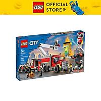 Đồ chơi LEGO City Xe Đầu Kéo Chữa Cháy 60282