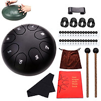 1 Set Metal 6-inch 8-tone Steel Tongue Drum Kit Musical Instruments