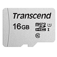 Thẻ Nhớ 16GB Tốc Độ Cao Up To 95MB/s MicroSDHC 300S Transcend - Hàng Chính Hãng