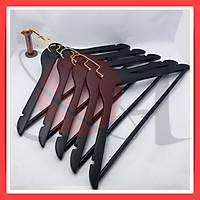 Bộ 20 Móc Áo Gỗ Tam Giác Màu Đen Luxury