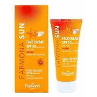 Kem Chống Nắng Farmona Sun Face Cream Oil Free Spf50 50ml, Không Chứa Dầu Cho Da Mặt