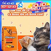 Combo 2 gói Thức ăn cho mèo Minino Tuna Flavored 1.3kg/gói