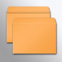 Bao thư  A5 màu cam/ vàng nghệ - 18x24 cm - 100 CÁI/ XẤP - NẮP KHÔNG KEO