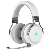 Tai nghe Corsair VIRTUOSO RGB Wireless - White - Hàng chính hãng