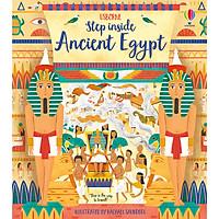 Sách Usborne: Step Inside Ancient Egypt