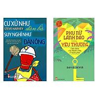Combo Sách Hay: Cư Xử Như Đàn Bà Suy Nghĩ Như Đàn Ông (Tái Bản) + Phụ Nữ Lãnh Đạo Bằng Yêu Thương - ( Top Sách Bán Chạy Nhất Tháng / Sách Được Tìm Đọc Nhiều Nhất / Tặng Kèm Postcard Greenlife )