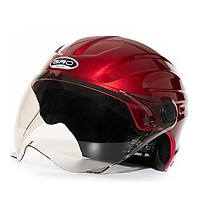 Mũ bảo hiểm nửa đầu GRO ST04K Sport, an toàn, có kính lượn, nhiều màu