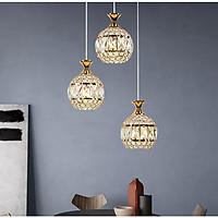 Bộ đèn thả KAIRI pha lê sang trọng - kèm bóng LED chuyên dụng