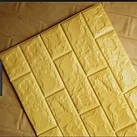 Combo 10 tấm xốp dán tường chống thấm 3D giả gạch
